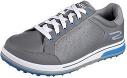 Skechers Men's Go Golf Drive 2 Golf Shoe White/Navy 10.5 2E