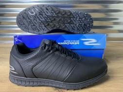 Skechers Go Golf Elite 2 Golf Shoes Triple Black SZ  NEW!!