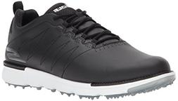 Skechers Men's Go Golf Elite 3 Shoe,black/white,14 W US