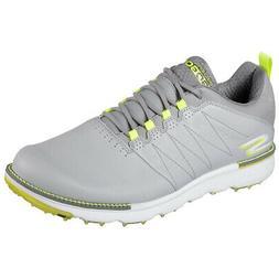 Skechers Go Golf Elite V.3 Spikeless Golf Shoes Gray/Lime -