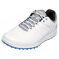 Skechers Go Golf Pivot Spikeless Golf Shoes White/Grey/Blue