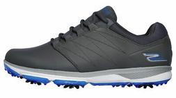Skechers Go Golf Pro 4 Golf Shoes 54535 GYBL Gray/Blue Men's