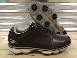 Skechers Go Golf Pro Matt Kuchar Official Golf Shoes Brown L
