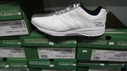 Skechers Go Golf Torque Mens Golf Shoes Sz 9.5W White