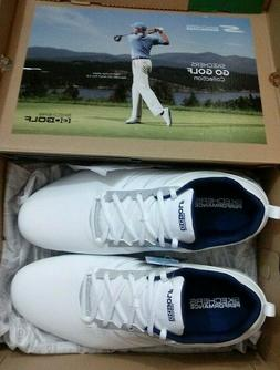 Skechers Go Golf Ultra Go Wide Fit White Navy Size 11.5 Torq