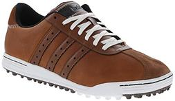 adidas Golf Men's Adicross Classic, Tan Brown/White, 11 M