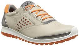 Ecco Womens Golf Biom Hybrid 2 Oyester/Orange 38 - 120213578