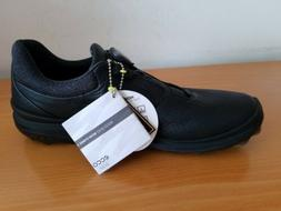 Ecco Golf Biom Hybrid 3 Boa Men's Black Shoes  - NEW -  Size