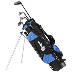 Confidence Junior Golf Club Set w/Stand Bag for kids Ages 4-