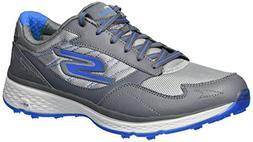 Skechers Golf Men's Go Golf Fairway Golf Shoe, Charcoal/Blue