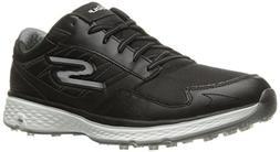 Skechers Golf Men's Go Golf Fairway Golf Shoe, Black/White,