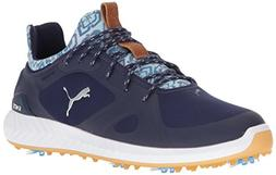 PUMA Golf Men's Ignite Pwradapt Aloha Golf Shoe, Peacoat/Whi