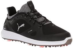 PUMA Golf Men's Ignite Pwradapt Golf Shoe Black, 10.5 Medium