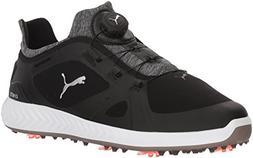 PUMA Golf Men's Ignite Pwradapt Disc Golf Shoe, Black, 12 Me