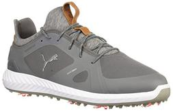 PUMA Golf Men's Ignite Pwradapt Golf Shoe Quiet Shade, 14 Me