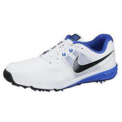 NIKE Golf Men's Lunar Command White/Lyon Blue/Black Sneaker