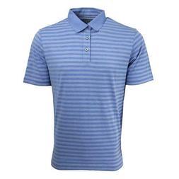 Ashworth Golf Men's Polo Shirt Seaside Blue Size Medium M EZ