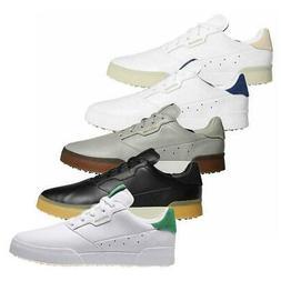 adidas Golf Mens Adicross Retro Leather Waterproof Spikeless