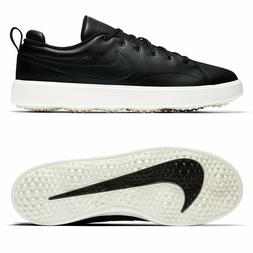 Nike Golf Mens Course Classic Spikeless Golfing Shoes Black