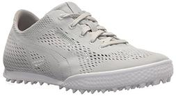 PUMA Golf Women's Monolite Cat Woven Shoe, Glacier Gray, 12