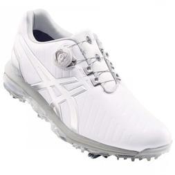 Asics Golf Shoes GEL-ACE PRO3 Boa Soft Spike TGN919 White Si