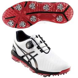 Asics Golf Shoes GEL-ACE PRO3 Boa Soft Spike TGN919 White/Bl