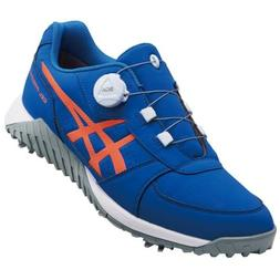 ASICS Golf Shoes GEL-PRESHOT BOA Soft Spike Wide 1113A003 Bl