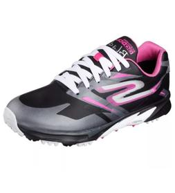 Skechers Golf Shoes Go Golf Blade Black Pink White Cleats Ne