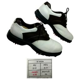 Callaway Golf Shoes Men's 11.5 Med White Brown Saddle M209-1