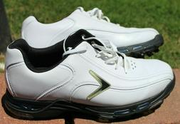 Callaway Golf Shoes Men Size 10.5, 11 White black blue LEATH