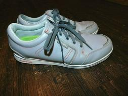 Ashworth Golf Shoes Mens US 10 Gray Leather Spikeless Lace U
