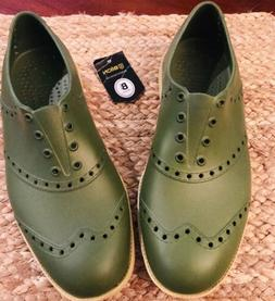 Biion Golf Shoes Olive