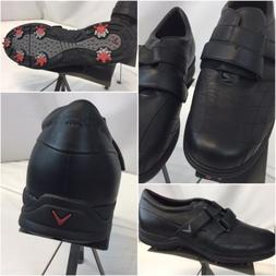 golf shoes sz 12 men black leather
