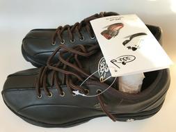 Bite Golf Shoes Women  Pin High Leather UK 5.5 US 8.0 Dark B