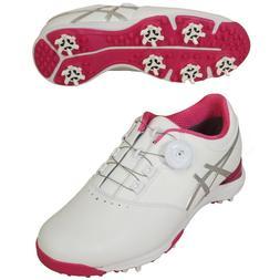 ASICS Golf Spike Ladies Shoes GEL-ACE THEA3 BOA TGN917 White