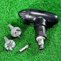 Golf Spike Wrench Champ Pro Max Cleats Softspikes Tool With