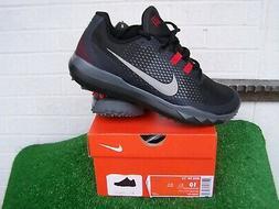 Nike Golf Tiger Woods TW '15 Black Golf Shoes US Size 10 Med
