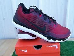 Nike Golf Tiger Woods TW '15 Red Golf Shoes US Size 10.5 Med