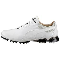 PUMA Golf Men's Titantour Ignite Premium White/Glacier Gray/