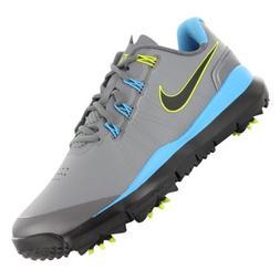 Nike Golf TW '14 Golf Shoe - COOL GREY/VIVID BLUE/MTLC DARK