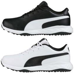 Puma Grip Fusion Classic Golf Shoes 190562 Men's New 2018 -