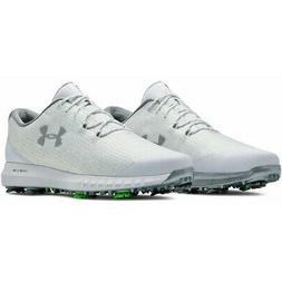 Under Armour Hovr Drive Woven Golf Shoes White/Silver - 2019