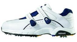 FootJoy Hydrolite Velcro Golf Shoes White 10.5 Medium Closeo