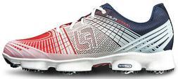 Footjoy Hyperflex Ii Golf Shoes Red/White/Blue - Choose Size