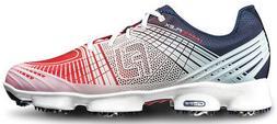 FootJoy HYPERFLEX II Golf Shoes Red/White/Blue 10.5 Medium