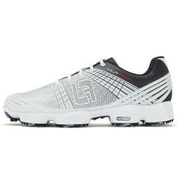 Footjoy Hyperflex Ii Golf Shoes White/Black - Choose Size &