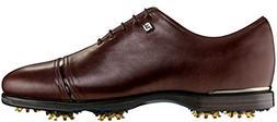 Footjoy Icon Black Golf Shoes Brown 9 Medium- Closeout 52068