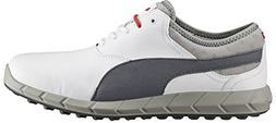 Puma Ignite Golf Shoes 2016, White/Turbulence/High Risk Red,