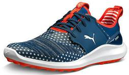 Puma Ignite NXT Lace Golf Shoes 192975-01 Patriot Stars & St