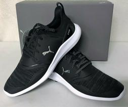 Puma Ignite NXT Lace Spikeless Mens Golf Shoes - Puma Black